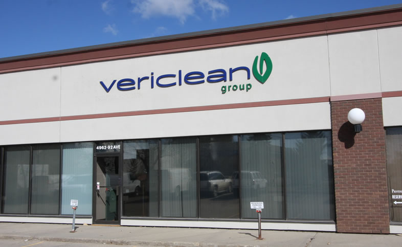 Vericlean Office Sign Image